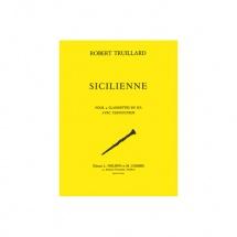 Truillard Robert - Sicilienne - 4 Clarinettes