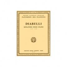 Diabelli Anton - Sonatines Op.151 Et 168 - Piano