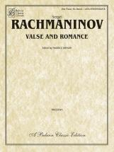 Rachmaninov Sergei - Valse And Romance - 1 Piano, Six Hands