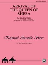 Haendel Georg Friedrich - Arrival Of Queen Of Sheba - Piano Solo