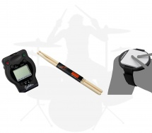 Ahead Pack Debutant Batterie - Pad Entrainement 5 + Baguettes + Metronome