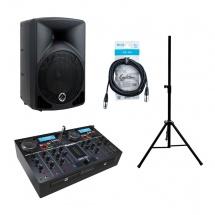 Numark Pack Station Mixage + Enceinte + Stand + Cables