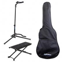 Woodbrass Pack Accessoires Starter  Pour Guitare Classique 4/4