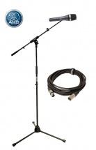 Akg D5 + Cable Xlr 10m + Pied Micro