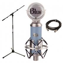 Blue Microphones Bluebird  + Pied + Cable Xlr 5m