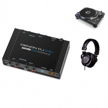 Denon Dj Pack Interface Ds1 + Paire One Two + Casque