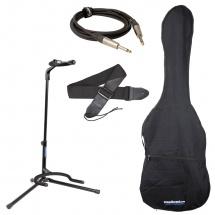 Woodbrass Pack Accessoires Starter Pour Guitare Electrique