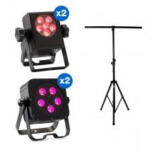 Contest Projecteur Carre + Mini-cube + Stand Lumiere