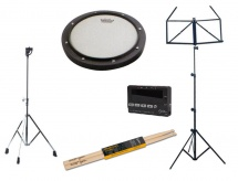 Remo Pad Remo + Stand + Metronome + Baguettes + Pupitre