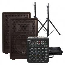 Bird Instruments Pack Enceintes Cs 12 P + Stands + Table De Mixage