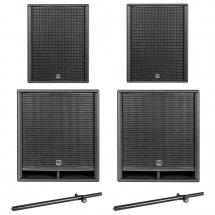 Hk Audio Pack Premium Pro 115 Xd2 + 118 Sub D2 + Mats