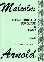 Arnold - Concerto Op.67 - Guitare