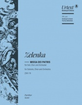Zelenka - Missa Dei Patris In C Major Zwv 19 - Score