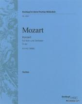 Mozart W.a. - Hornkonzert D-dur Kv 412 (386b) - Score