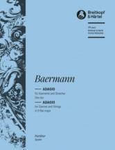 Baermann Heinrich Joseph - Adagio Des-dur - Clarinet, Strings