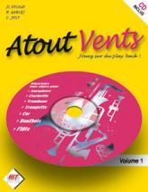 Atout Vent + Cd - Saxo, Clarinette, Trombone, Trompette, Cor, Hautbois, Flute Et Basson