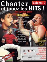 Chantez Et Jouez Les Hits Vol.3 + Cd - Pvg