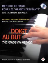 Gouyet L. / Le Guern D. - Doigt Au But, Methode Pour Grands Debutants + Cd