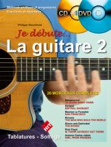 Heuvelinne P. - Je Debute La Guitare Vol.2 + Cd + Dvd