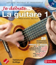 Heuveline P. - Je Debute La Guitare + Cd Et Dvd