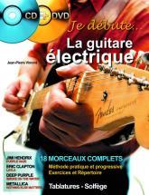 Vimont J.p. - Je Debute La Guitare Electrique + Cd + Dvd