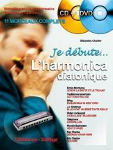 Charlier S. - Je Debute L'harmonica Cd + Dvd - Harmonica