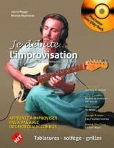 Je Debute L'improvisation + Cd - Guitare