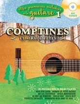 Mes Premieres Melodies A La Guitare Vol.1 - Comptines Et Airs De Fetes + Cd