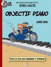 Sans Aline - Objectif Piano + Cd