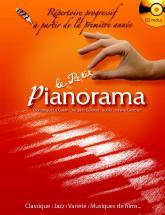 Petit Pianorama + Cd, Repertoire Pour La Premiere Annee De Piano