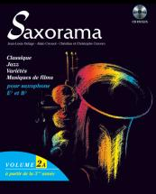 Saxorama Vol. 2a + Cd