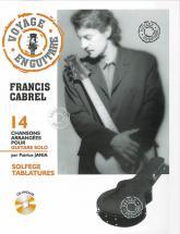 Cabrel Francis - Voyage En Guitare + Cd - Guitare Tab