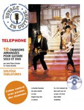 Telephone - Voyage En Guitare + Cd - Guitare Tab