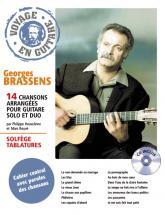 Brassens Georges - Voyage En Guitare + Cd - Guitare Tab