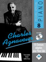 Aznavour Charles - Special Piano N°9 + Cd - Piano