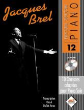 Brel Jacques - Special Piano N°12 + Cd - Piano