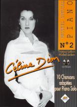 DION CELINE - SPECIAL PIANO N°2 + CD - PIANO