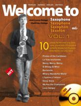 Delage Jl&m - Welcome To Saxophone Mib Vol.1 + Cd