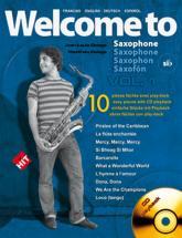 Delage Jl&m - Welcome To Saxophone Sib Vol.1 + Cd