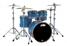 Pdp By Dw Concept Maple Ltd. Edition Blue Lacquer/orange Hoops