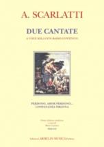 Scarlatti A. - Due Cantate A Voce Sola Con Basso Continuo
