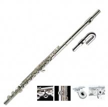Pearl Flute Quantz 505rus Tete Droite + Courbe