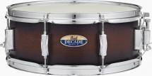 Pearl Dmp1455sc-260 - Caisse Claire Decade Maple 14x5,5 Satin Brown Burst