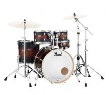 Pearl Dmp905p/c-260 - Decade Studio Fusion 20 Satin Brown Burst