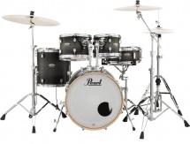 Pearl Dmp905p/c-262  - Decade Studio Fusion 20 Satin Black Burst