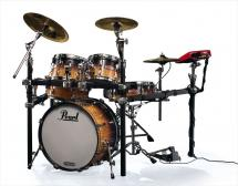 Pearl E-pro Live - Cymbales Cuivre - Quilted Maple Fade