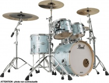 Pearl Drums Master Maple Complete Fusion 20 Ice Blue Oyster - Mct904xepc-414
