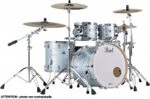 Pearl Drums Master Maple Complete Rock 22 Ice Blue Oyster - Mct924xepc-414
