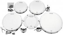 Pearl Drums Epad25 Epro Live Kit De Peaux Standard 12 13 14 16 + Grosse Caisse