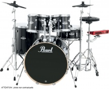 Pearl Epex725sc-31 Rock 22 - 5 Futs - Rhodoïd Jet Black